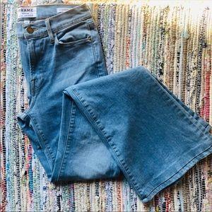 FRAME Le high flare 27 denim jeans